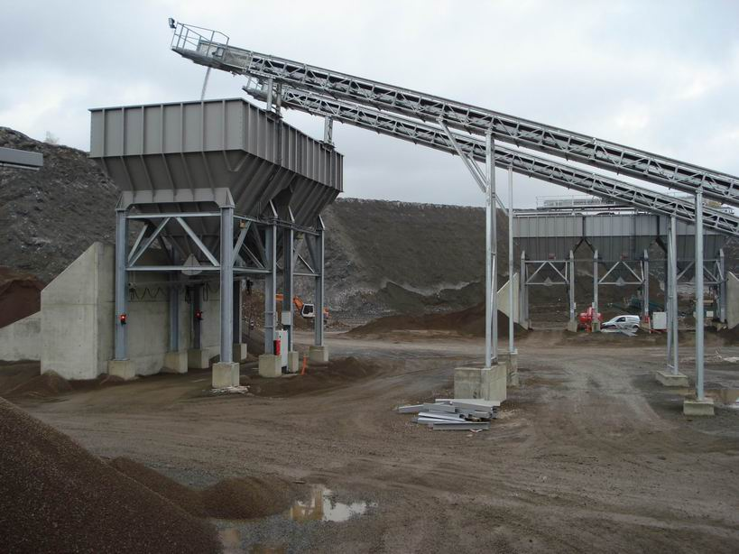 Control system for slag filling system