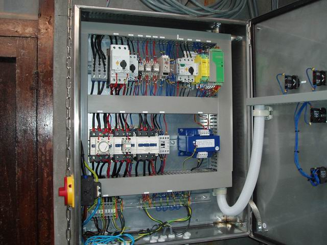 Control system for cattle slaughter house
